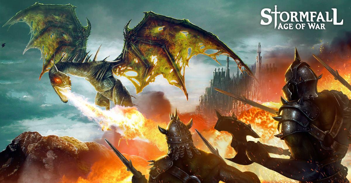 Stormfall Dragon